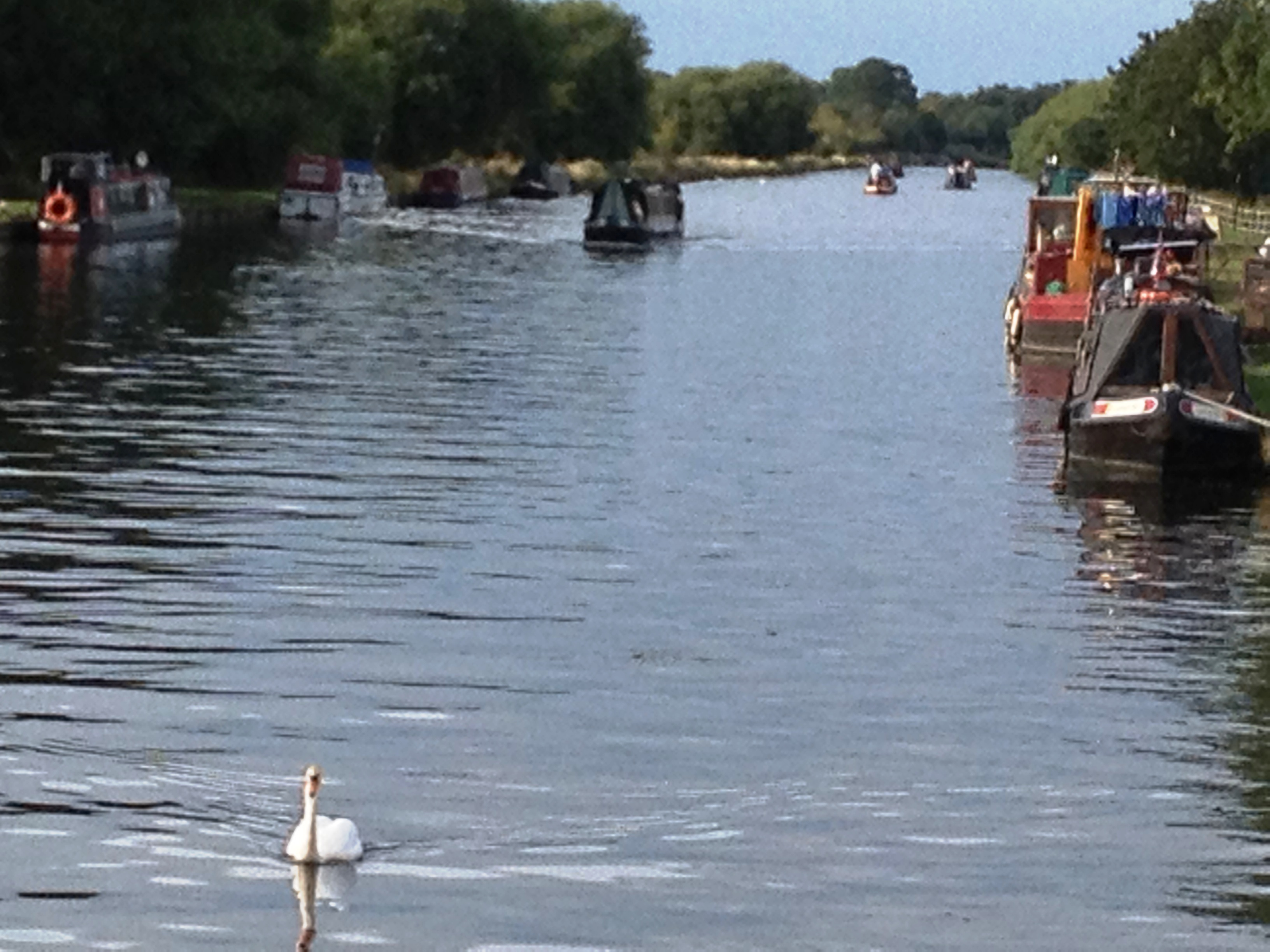 Gloucester to Sharpness Canal in Frampton (2 miles away)